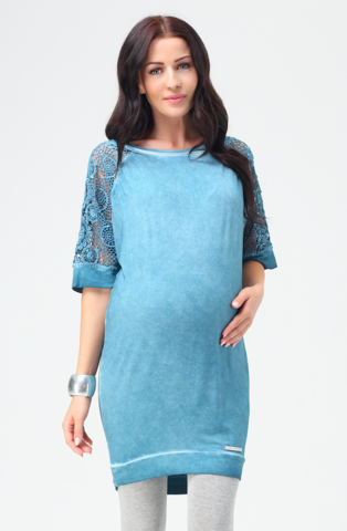 9fashion Maternity Tunic/Cover Up Coba, Maternity Tops Nursing Tops Canada,- Luna Maternity & Nursing