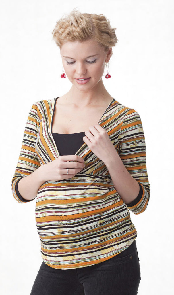 Mama i Ja Maternity & Nursing Top - Bogna, Sale,- Luna Maternity & Nursing