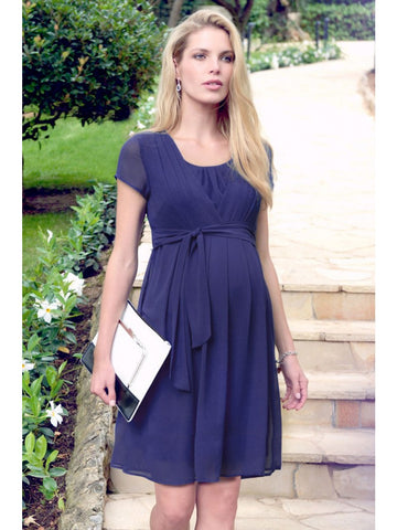 68023afc2b9 Seraphine Chiffon Maternity   Nursing Dress Jodie