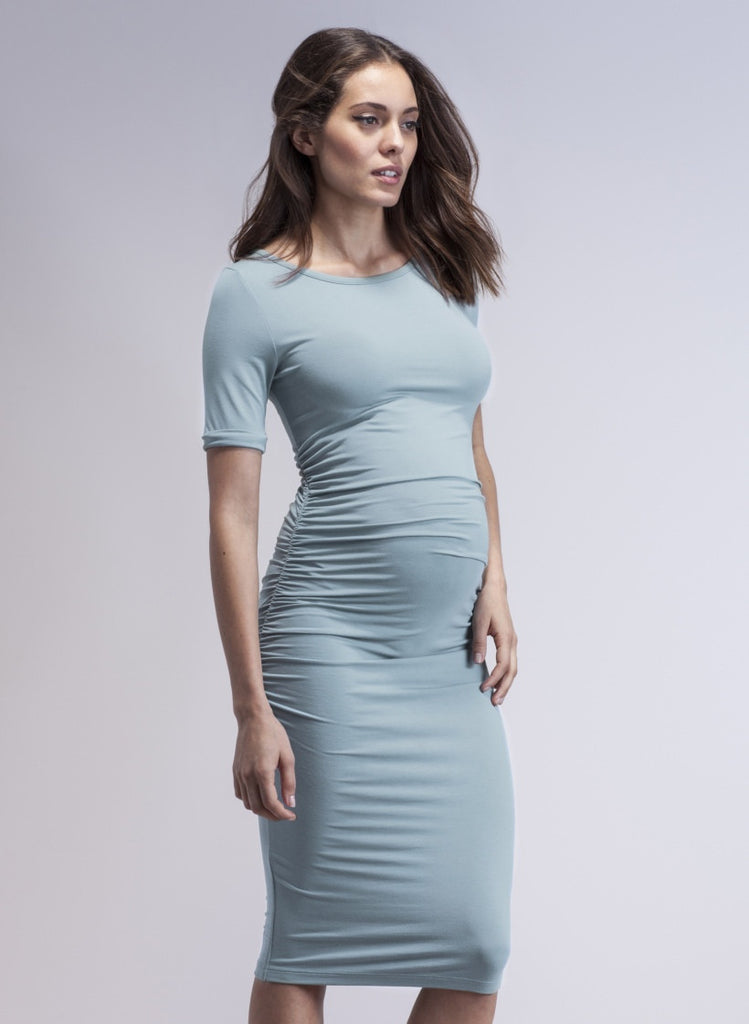 Isabella Oliver Canada Ruched T-Shirt Maternity Dress | Free Shipping