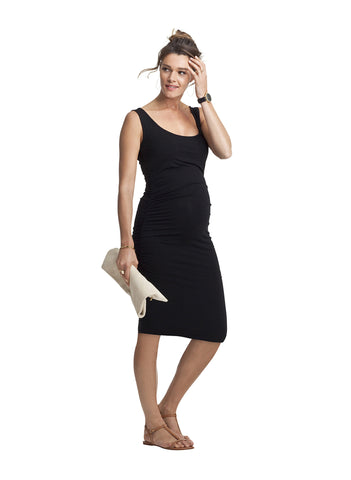 Maternity Dresses Canada Nursing Dresses Canada, Isabella Oliver Ellis Maternity Tank Dress, Luna Maternity & Nursing,  - 1