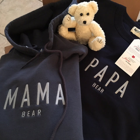 Mama Bear Post Pregnancy Hoodie, Gift Card,- Luna Maternity & Nursing