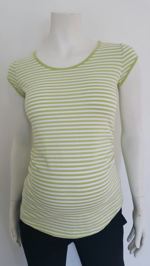 Mama i Ja Striped Top - Size Small, Sample Sale,- Luna Maternity & Nursing