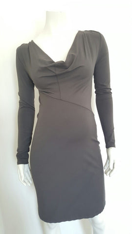Queen Mum Maternity & Nursing Cowl Neck Dress -, Maternity Dresses Canada Nursing Dresses Canada,- Luna Maternity & Nursing