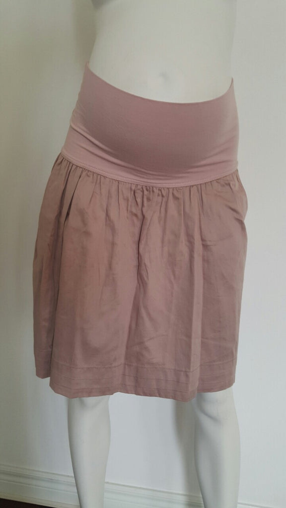 Messa Maternity Woven Skirt with Pockets - Size Medium, Sample Sale,- Luna Maternity & Nursing