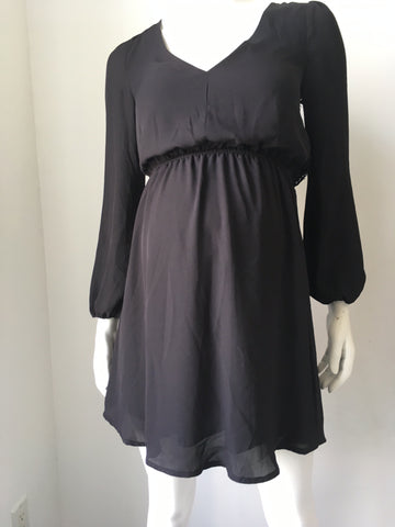 Desire Back Maternity Detail Dress, Sample Sale,- Luna Maternity & Nursing