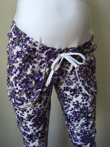 Mama i Ja Print Trousers - Size Small, Sample Sale,- Luna Maternity & Nursing