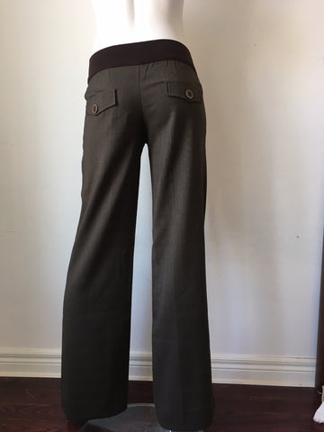 Everly Grey Trousers - Size XS, Sample Sale,- Luna Maternity & Nursing
