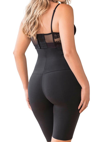 Leonisa Post Pregnancy & Nursing Invisible Strapless Mid Thigh Body Shaper with Moderate Compression, shapewear,- Luna Maternity & Nursing