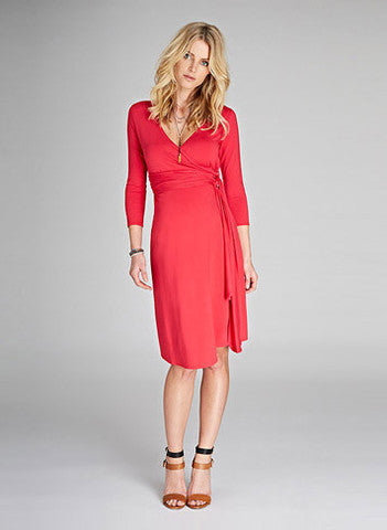 Maternity Dresses Canada Nursing Dresses Canada, Isabella Oliver Maternity & Nursing Wrap Dress, Luna Maternity & Nursing,  - 3