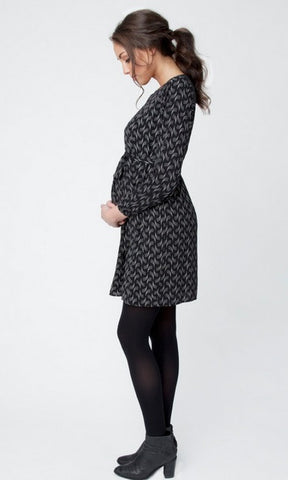 Ripe Maternity Soundwave Tunic Dress, Maternity Tops Nursing Tops Canada,- Luna Maternity & Nursing