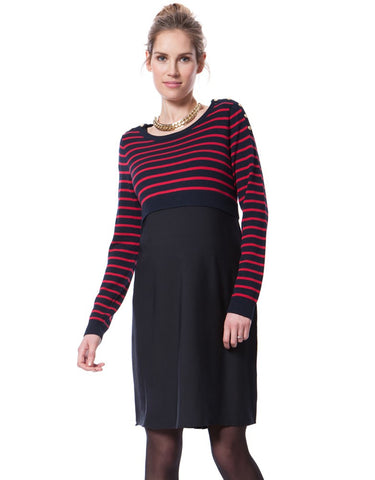 Seraphine Maternity & Nursing Dress Emma, Maternity Dresses Canada Nursing Dresses Canada,- Luna Maternity & Nursing