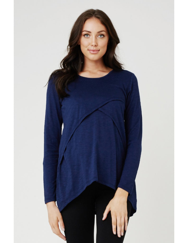 Ripe Maternity & Nursing Top Margot, Maternity Tops Nursing Tops Canada,- Luna Maternity & Nursing