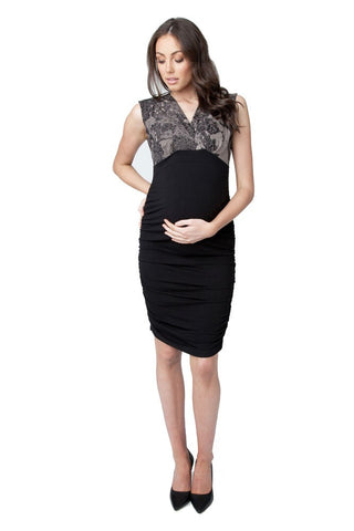 b3f343e0923 Ripe Maternity   Nursing Chantilly Dress
