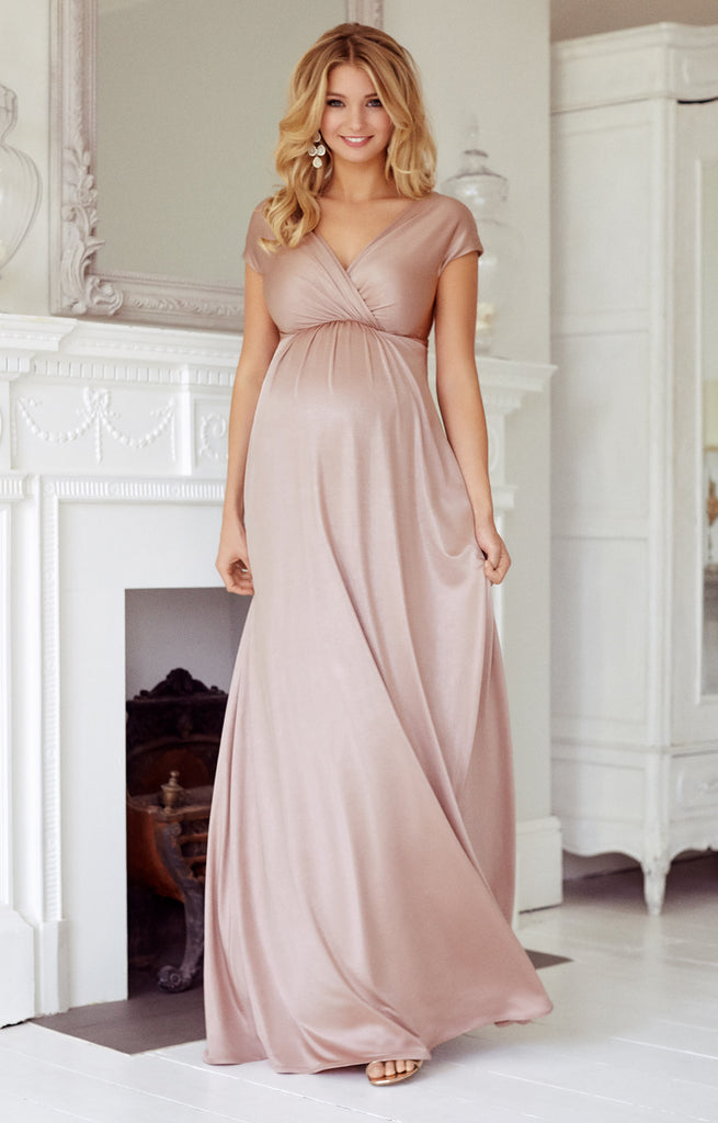 Tiffany Rose Maternity & Nursing Maxi Dress Francesca Blush, Maternity Dresses Canada Nursing Dresses Canada,- Luna Maternity & Nursing