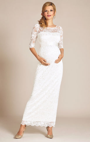 Tiffany Rose Amelia Maternity Gown Ivory