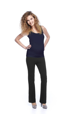 Queen Mum Maternity & Beyond 'Nicer than Yoga' Pants, Best Maternity Pants Pregnancy Trousers Toronto Canada Online,- Luna Maternity & Nursing