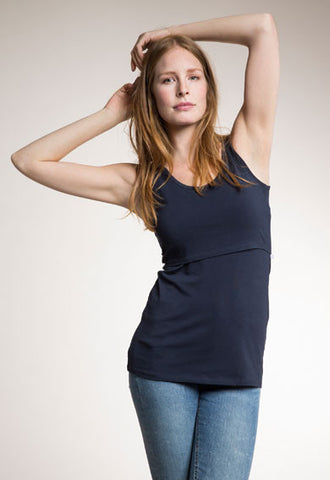 Boob Maternity & Nursing Tank, Maternity Tops Nursing Tops Canada,- Luna Maternity & Nursing