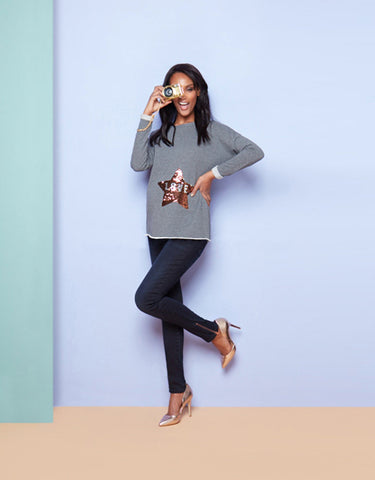 Seraphine Maternity & Beyond Love Life Sweater