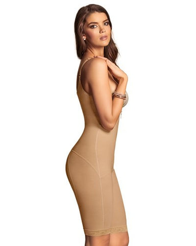 Leonisa Nursing Post-Pregnancy Mid-Thigh Power Slimmed Body Shaper 018674N, shapewear,- Luna Maternity & Nursing