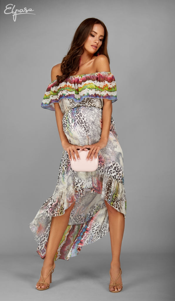 Elpasa Maternity & Nursing Maxi Dress Jasmin