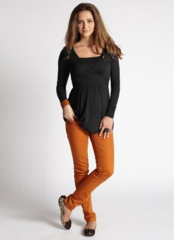 Mothers en Vogue Maternity & Nursing Top Bonita, Maternity Tops Nursing Tops Canada,- Luna Maternity & Nursing