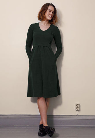 Boob Maternity & Nursing Dress Charlotte, Maternity Dresses Canada Nursing Dresses Canada,- Luna Maternity & Nursing