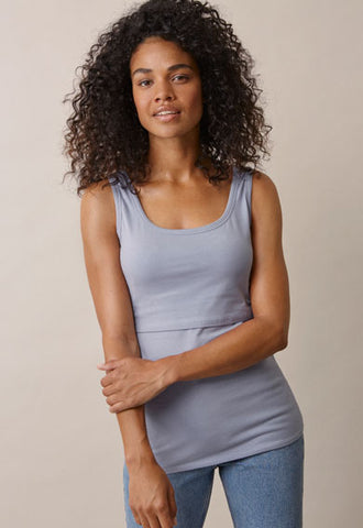 Boob Maternity & Nursing Tank BEST SELLER, Maternity Tops Nursing Tops Canada,- Luna Maternity & Nursing