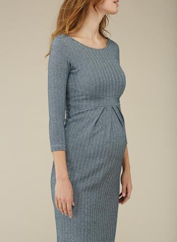 Isabella Oliver Effra Pleat Maternity Dress, Maternity Dresses Canada Nursing Dresses Canada,- Luna Maternity & Nursing