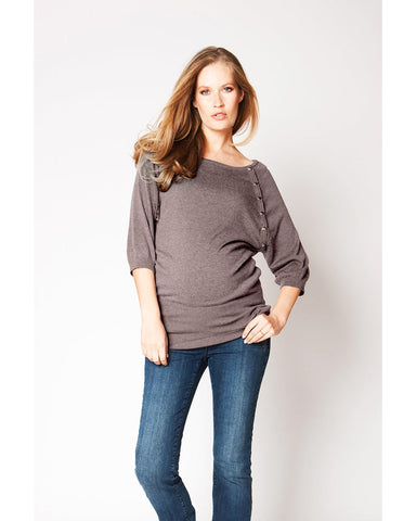 Seraphine Maternity & Nursing Sweater Alexia, Maternity Tops Nursing Tops Canada,- Luna Maternity & Nursing