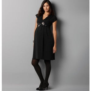 Maternity Dress with Detachable Ivy Belt, Maternity Dresses Canada Nursing Dresses Canada,- Luna Maternity & Nursing