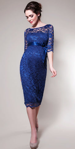 Tiffany Rose Maternity Lace Dress Amelia Windsor Blue SALE, Maternity Dresses Canada Nursing Dresses Canada,- Luna Maternity & Nursing