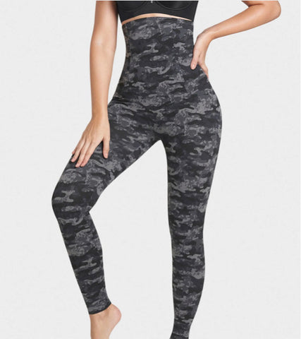 Leonisa Post Pregnancy High Waisted Firm Compression ActiveLife Leggings