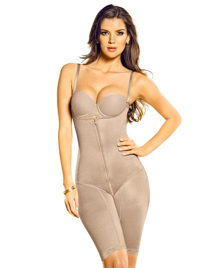 Leonisa Post-Pregnancy Open Bust Tummy Slimming  Bodysuit Shaper 018433, shapewear,- Luna Maternity & Nursing