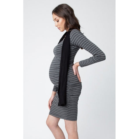 Ripe Maternity Striped Cocoon Dress, Maternity Dresses Canada Nursing Dresses Canada,- Luna Maternity & Nursing
