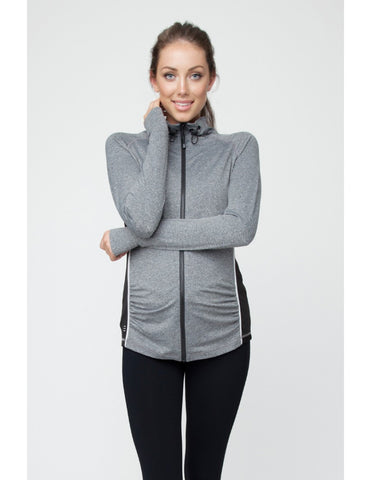 Ripe Maternity Flow Zip Athletic Jacket, Maternity Tops Nursing Tops Canada,- Luna Maternity & Nursing
