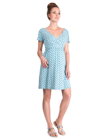 Seraphine Kaliste Tie Back Maternity & Nursing Dress, Maternity Dresses Canada Nursing Dresses Canada,- Luna Maternity & Nursing