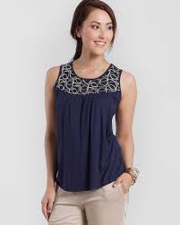 Mothers en Vogue Maternity & Nursing Top Tresor