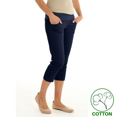 Mothers en Vogue Maternity & Post Pregnancy Pencil Capris, Capri,- Luna Maternity & Nursing