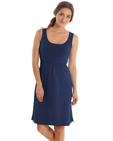 Mothers en Vogue Tank Nursing Dress India Ink, Mississauga Toronto Montreal Alberta BC,- Luna Maternity & Nursing