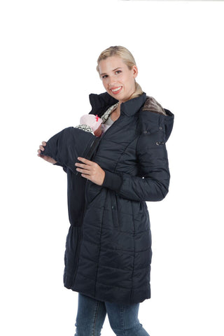 Modern Eternity Quilted & Babywearing 3-in-1 Coat, Mississauga Toronto Montreal Alberta BC,- Luna Maternity & Nursing