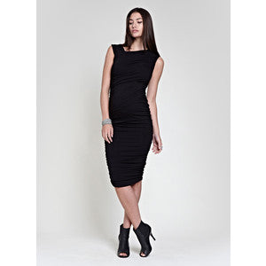Isabella Oliver Francesca Ruched Maternity Dress - XS Only, Formal Maternity Dresses Toronto GTA Canada,- Luna Maternity & Nursing
