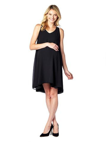 Pietro Brunelli Hi/Low Maternity Dress Lago di Como, Maternity Dresses Canada Nursing Dresses Canada,- Luna Maternity & Nursing
