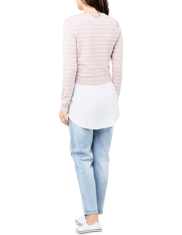 Ripe Button Sia Maternity & Nursing Knit Top, Maternity Tops Nursing Tops Canada,- Luna Maternity & Nursing