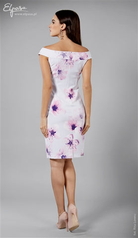 Elpasa Violet Floral Formal Maternity Dress Marion, Maternity Dresses Canada Nursing Dresses Canada,- Luna Maternity & Nursing
