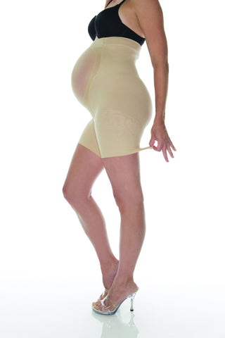 Spanx Power Mama Maternity Mid Thigh Shaper, Tights,- Luna Maternity & Nursing