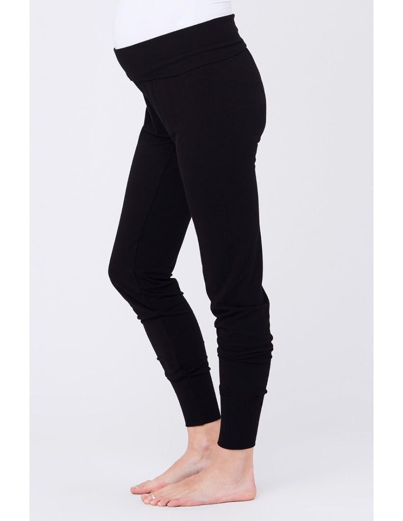 Ripe Maternity & Post Pregnancy Jersey Lounge Jogger Pant, Best Maternity Pants Pregnancy Trousers Toronto Canada Online,- Luna Maternity & Nursing