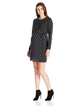 Ripe Maternity Soundwave Tunic Dress, Maternity Dresses Canada Nursing Dresses Canada,- Luna Maternity & Nursing