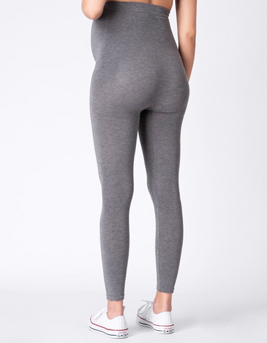 Seraphine Bamboo Maternity Leggings Tammy – Grey & Black Twin Pack BEST SELLER
