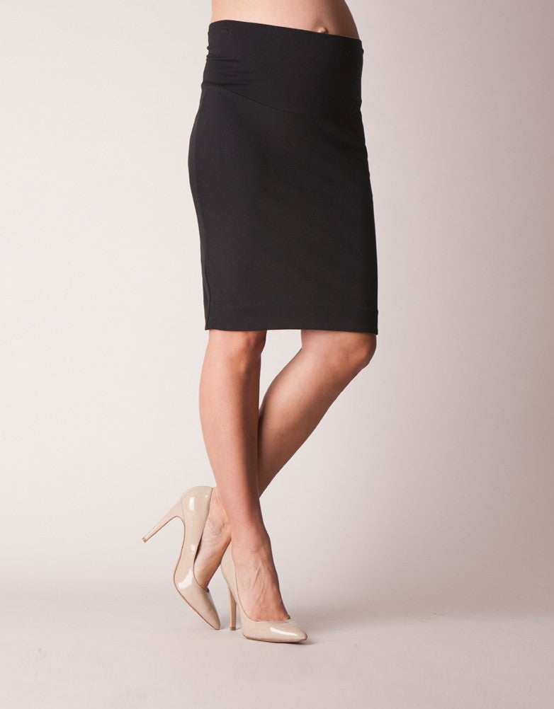 Seraphine Maternity Pencil Skirt - Size Small, Skirt,- Luna Maternity & Nursing